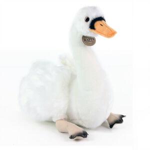 Rappa Plyšová sedící labuť, 32 cm