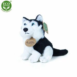 Rappa Plyšový pes Husky 16 cm