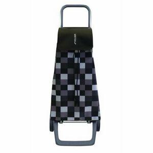 Rolser Nákupní taška na kolečkách Jet Dama Joy, černo-bílá