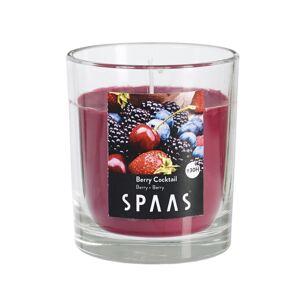 SPAAS Vonná svíčka ve skle Berry Cocktail, 7 cm