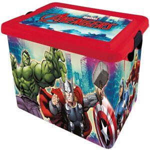 STOR Dekorační úložný box Avengers, 23 l