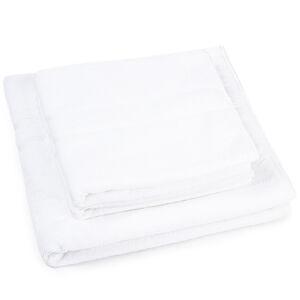 Sada hotelových ručníků a osušky Ellin, 2 ks 50 x 100 cm, 1 ks 70 x 140 cm