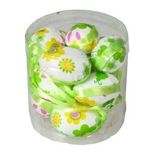 Sada závěsných velikonočních vajíček 4 cm zelená, 12 ks