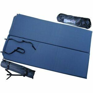 Samonafukovací karimatka pro 2 osoby modrá, 186 x 110 x 2,5 cm