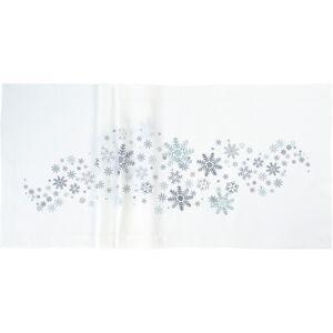 Sander Ubrus Crystal medley bílá, 85 x 85 cm