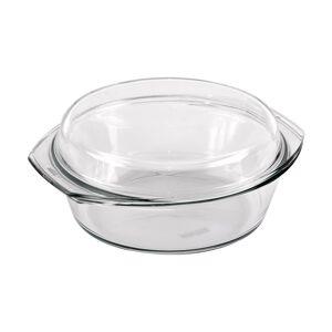 Simax Pekáč sklo kulatý s víkem, 1,5 l