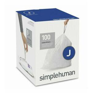 Sáčky do odpadkového koše 30-45 L, Simplehuman typ J zatahovací, 5 x 20 ks ( 100 sáčků )