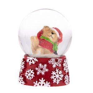 Sněžítko s medvídkem, 6,3 cm