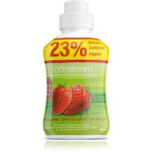 SodaStream Sirup Zelený čaj a Jahoda, 750 ml