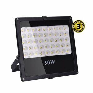 Solight WM-50W-F LED venkovní reflektor 50 W, černá