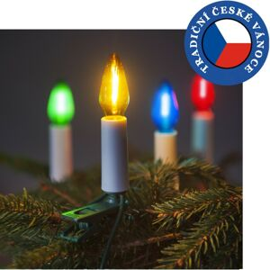 Souprava Felicia DUO LED Filament barevná 2xSV-16K, 2x 16 žárovek