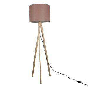 Stojací lampa Lila 8, hnědá