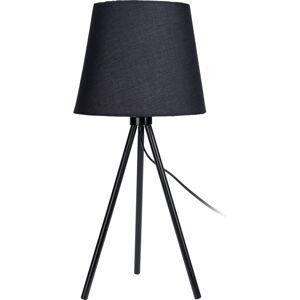 Stolní lampa Louro, černá