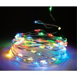 Světelný drát barevná, 80 LED
