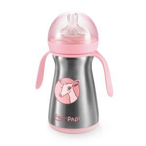 Tescoma Termo láhev PAPU PAPI 200 ml, růžová