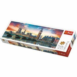 Trefl Panoramatické puzzle Big Ben a Westminsterský palác, Londýn, 500 dílků