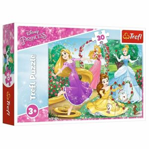 Trefl Puzzle Disney princezny Být princeznou, 30 dílků