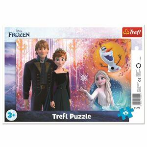 Trefl Puzzle Ledové království Šťastné vzpomínky, 15 dílků