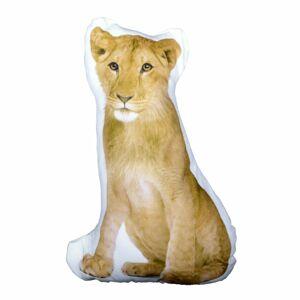 Forbyt Tvarovaný 3D polštářek Lvice, 35 x 25 cm