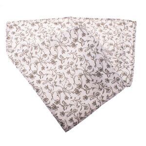 Ubrus Zara bílá, 60 x 60 cm