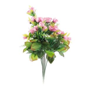 Umělá kytice Růže, růžová