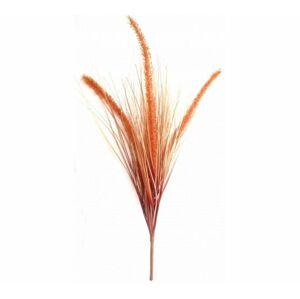 Umělá kytice Trávy oranžová