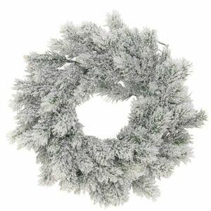 Vánoční věnec Leverano šedá, pr. 35 cm