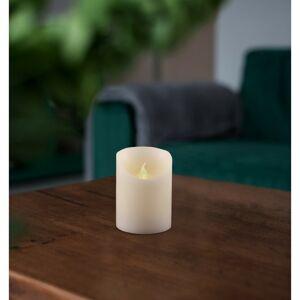Vosková LED svíčka, 7,5 x 10 cm