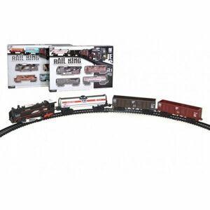 Wiky Vlak s kolejemi se světlem a zvukem, 104 x 68 cm, na baterie
