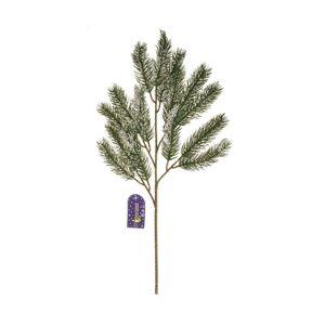 Zimní zasněžená smrková větev, v. 52 cm