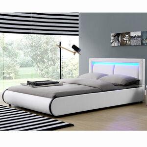 """Čalouněná postel,, Murcia """"180 x 200 cm - bílá"""