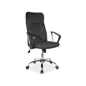 Kancelářská židle Q-025 čierny materiál