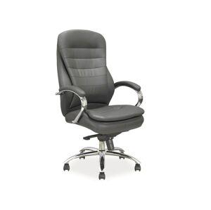 Kancelářská židle Q-154 šedá
