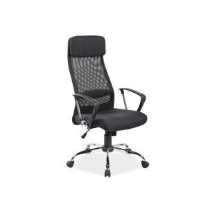 Kancelářská židle Q-345 černá