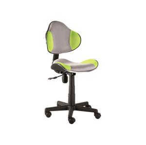 Kancelářská židle Q-G2 zeleno/šedá