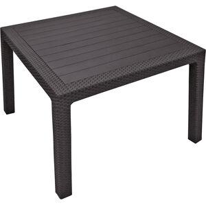 Keter MELODY QUARTED stůl -  hnědý